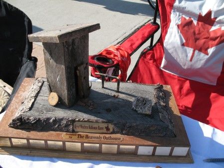Outhouse Races Trophy