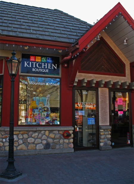 Kitchen Boutique Canmore Outside