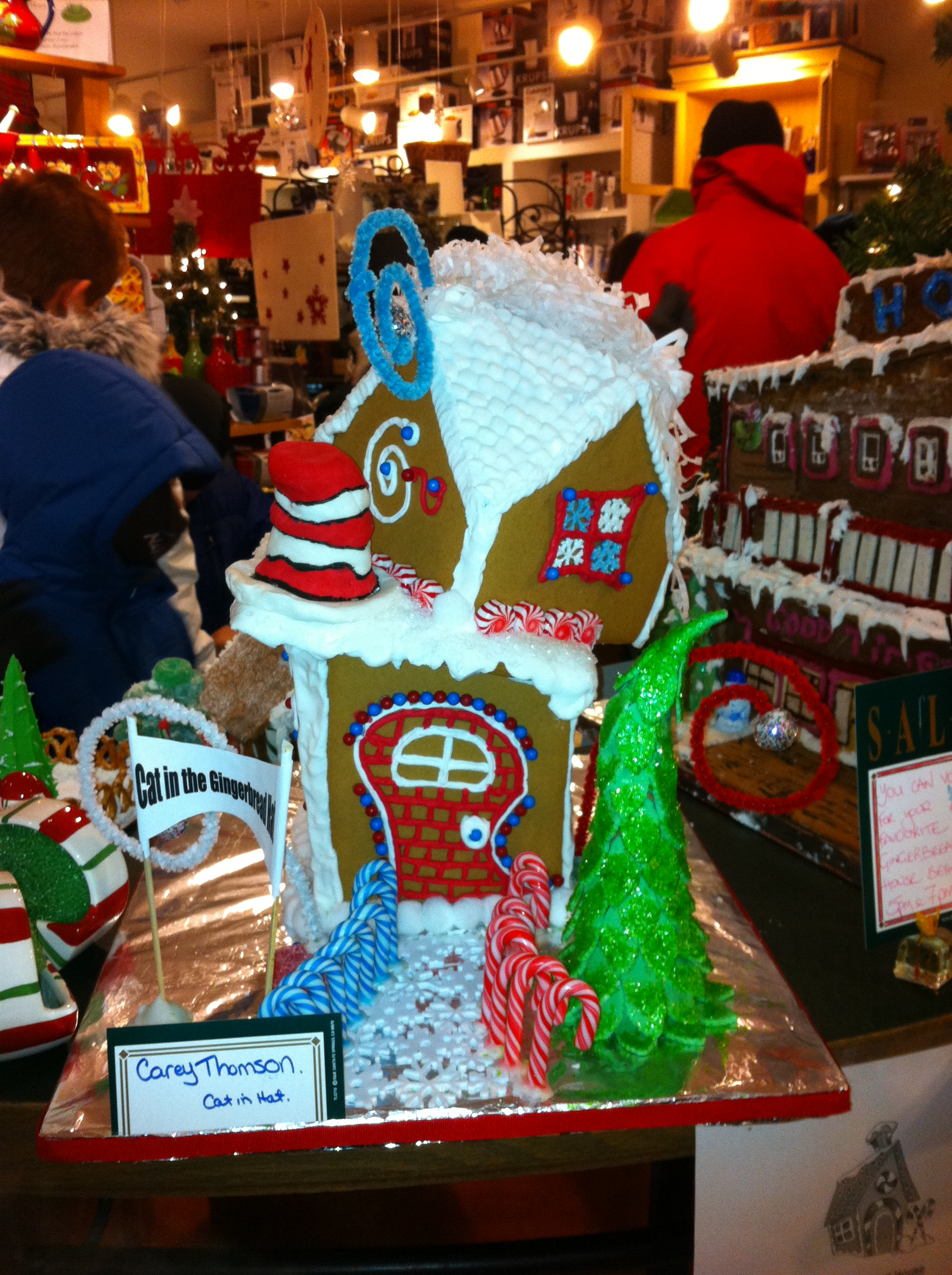 Cochrane Gingerbread House Competition   Kitchen Boutique