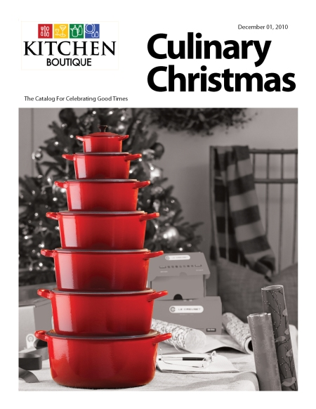 Kitchen  Boutique 2010 Christmas Catalog